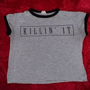 """Killin' It"" Crop Top"